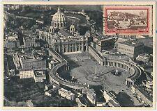 57321 - VATICANO Vatican - POSTAL HISTORY: MAXIMUM CARD 1934 - ARCHITECTURE