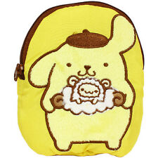 【Pom Pom Purin】Pouch-yellow fluffy cute Sheep design series KAWAII SANRIO JAPAN