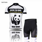 XINTOWN Team Panda Cycling Jersey Bicycle Bike Clothing Cycle Gear (BIB) Shorts