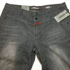 Marithe Girbaud Francois Jeans 34 Breakix Regular Tapered Grey New