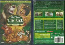 DVD - WALT DISNEY : LE LIVRE DE LA JUNGLE ( EDITION COLLECTOR 2 DVD )