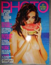 Photo French #421 8/2005 Ellen von Unwerth Adriana Lima Gisele Bundchen VS model