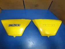 KAWASAKI KZ 400 KZ400 1978 RIGHT & LEFT SIDE PANELS ( PAIR )