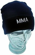 Beanie Hat MMA Embroidery Wool Hat 1 Size Senior