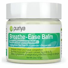 Natural Chest and Nasal Congestion Relief. Soothes Sore Throat, Dry Cough & More