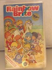 Rainbow Brite Peril In The Pits VHS Video Tape Children's Video Library 1983 OOP
