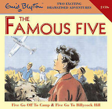 Five Go Off to Camp: WITH Five Go to Billycock Hill by Enid Blyton (Audio, 2008)