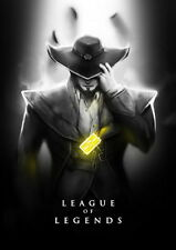 "225 League of Legends - Hot Online Video Game 14""x20"" Poster"