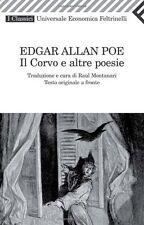 Il corvo e altre poesie - Edgar Allan Poe - Libro Nuovo in Offerta!
