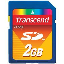 BRAND NEW! Transcend 2GB 2 GB SD Flash Memory Card