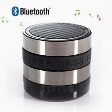 Bluetooth Wireless Lens Speaker Portable Super Bass Compact For Cell Phones iPod