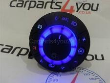 VAUXHALL CORSA D BLUE LED HEADLIGHT SWITCH WITH FR & RR FOGS + FREE UK POSTAGE