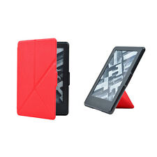 Micro Fiber Cover Leather Origami Deformable Case For Amazon Kindle Paperwhite