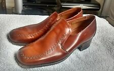 Mens Brown , Barker Fine English Loafer Shoes Size 7 1/2  100% Leather RRP £230