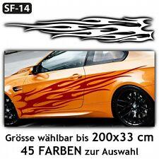 Flammen Auto Aufkleber Car Tuning Styling Hot Fire Design . SF-14
