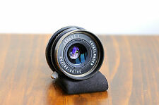 Voigtlander  Color - Skopar  28mm f/3.5  Leica LTM screw mount  w/ B+W UV filter