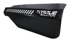 Torque Solution Engine Pulley Cover Black Fits Subaru WRX & Forester XT FA20DIT