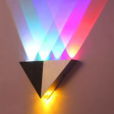 NEW Multi-Color 5W LED Wall Sconce Light Up & Down Indoor Wall Lamp Lighting