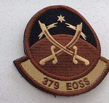 USAF PATCH,379TH EXPEDITIONARY OPERATIONS SUPPORT SQN, DESERT,HOOK PILE