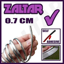 CHROME STYLING MOULDING STRIP TRIM ADHESIVE 7MM ALFA ROMEO 156
