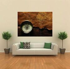 COMPASS MAP TRAVEL COUNTRIES NEW GIANT POSTER WALL ART PRINT PICTURE G120