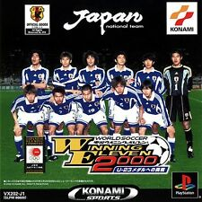 PS1 / Sony Playstation 1 - World Soccer Winning Eleven 2000 U-23 (JAP) (mit OVP)