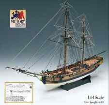 "Beautiful, brand new Amati model ship kit: the ""HMS Granado"" bombing vessel"