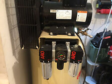 ARO 3-PIECE COMBO FRL MOUNTING BRACKET FOR INGERSOLL RAND VERTICAL COMPRESSORS !