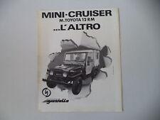 advertising Pubblicità 1980 DELTA MINICRUISER MINI CRUISER