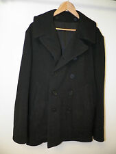 MEN'S Y 3 YOHJI YAMAMOTO ADIDAS BLACK DOUBLE BREASTED WOOL JACKET SIZE M USED