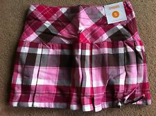 BNWT Gymboree Pink Check Pleated Skirt Age 5 Years