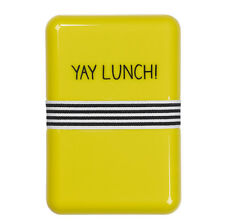 Yay Lunch! Lunch Box by Happy Jackson and Wild & Wolf