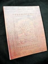 TREE of LIFE - Luxury Handmade Leather A4 Ring Binder Portfolio or Stamp Album