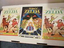 The Legend of Zelda Valiant Comic Book Lot