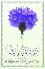 One-Minute Prayers to Begin and End Your Day by Hope Lyda (2008, Hardcover)