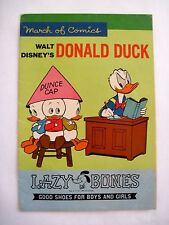 "Delightful 1964 ""March of Comics"" Advertising Booklet w/ Donald Duck & Friends *"