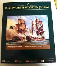 Wentworth Wooden Jigsaw 500 Pieces Chesapeake and the Shannon ~ Club Vol. 2
