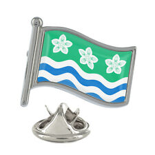 Cumbria Wavy Flag Pin Badge Lake District Windmere Carlisle New Exclusive