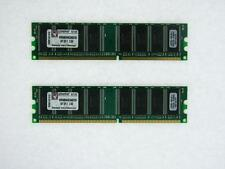 KVR400X64C3AK2/2G 2GB DDR 2RX8 PC3200 400MHZ LOW DENSITY DESKTOP RAM NON-ECC