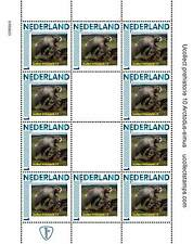 Nederland 2012 Ucollect Prehistorie 10 Arctodus Simus beer velletje postfris/mnh