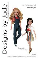 So Cute Overall & Skirtall Doll Clothes Sewing Pattern Ellowyne Wilde Dolls