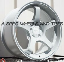 17X9.0 ROTA RT-5R WHEELS 5X100 WHITE RIMS +42MM FIT WRX (STI 2005) TC CELICA