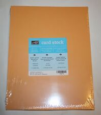Stampin Up Retired 8.5 x 11 Card Stock 24 pack Marigold Morning New 80 LB