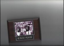 MIKE SINGLETARY & WILLIAM PERRY PLAQUE CHICAGO BEARS FOOTBALL NFL
