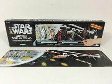 replacement star wars display stand box  and backdrop  fantastic quality