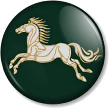 "Kingdom of Rohan Horse 1"" Pin Button Badge Hobbit JRR Tolkien Lord Of The Rings"