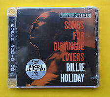 Billie Holiday , Songs for distingue Lovers  ( CD_SACD_Analogue Productions )