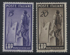 ITALY - 1949  EUROPEAN RECOVERY 15L & 20L MNH SG.728/9  (REF.A32)