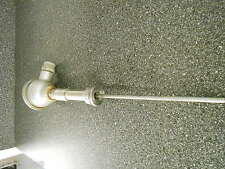 """USED OMEGA 1/2"""" NPT CONNECTIONS 11.5"""" PROBE/SENSOR CAST IRON HOUSING & ADAPTER"""