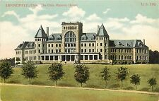 Unposted Printed Postcard Springfield OH, The Ohio Masonic Home, Clark County